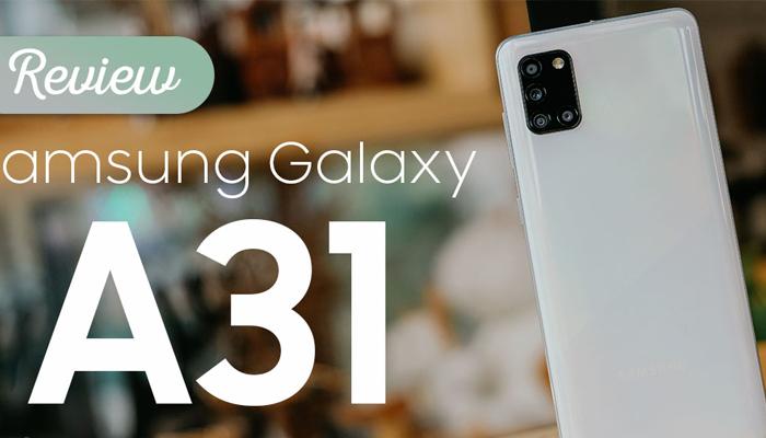 รีวิวโทรศัพท์มือถือรุ่น SAMSUNG Galaxy A31