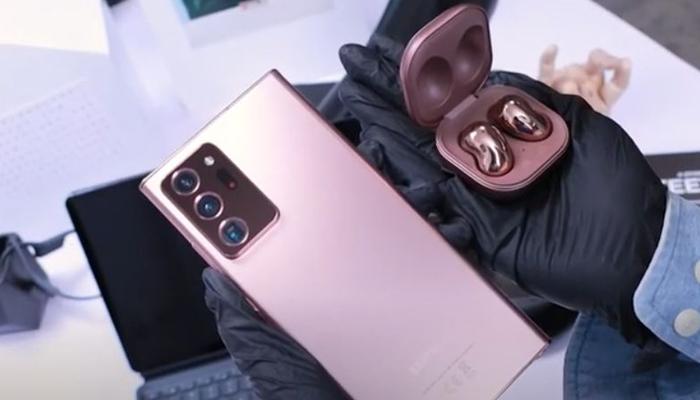 รีวิวโทรศัพท์มือถือรุ่น SAMSUNG Galaxy Note 20
