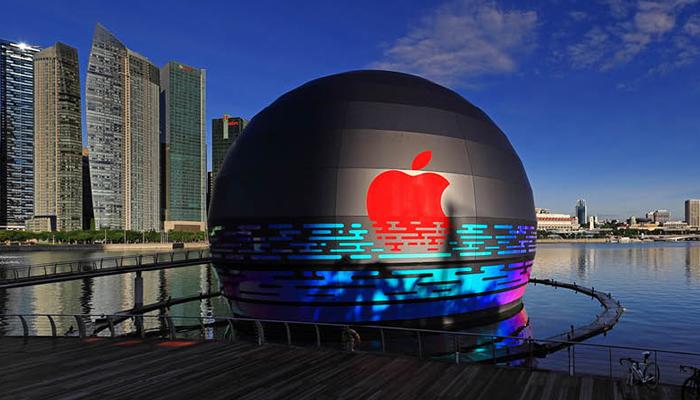 Apple เปิดตัว Apple Store แห่งใหม่ กลางอ่าวมารีน่า