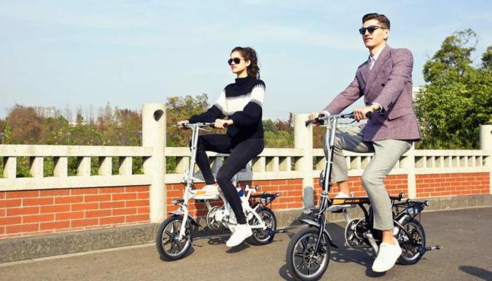 จักรยานไฟฟ้าทางเลือกของการเดินทาง