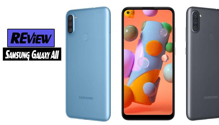 รีวิว Samsung Galaxy A11