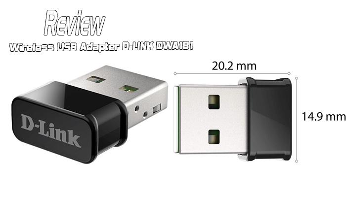รีวิว Wireless USB Adapter D-LINK DWA181