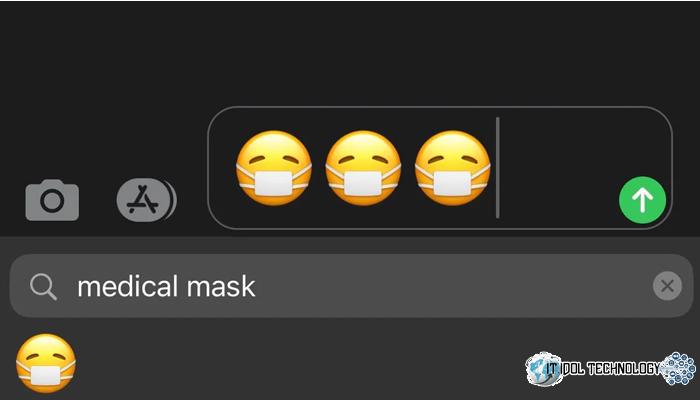 ระบบปฏิบัติการ iOS ก็ให้ความสำคัญกับ emoji นะ