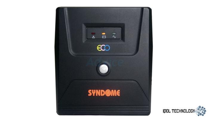 เครื่องสำรองไฟ SYNDOME UPS ECO1000VA/480W