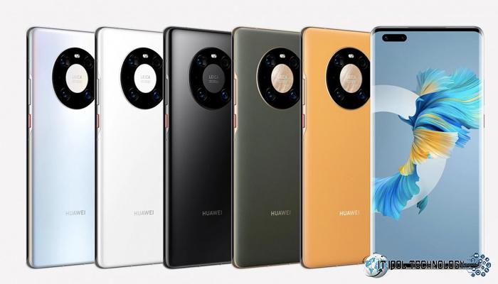 การปรากฏตัวของ Huawei Mate 40 Pro 5G