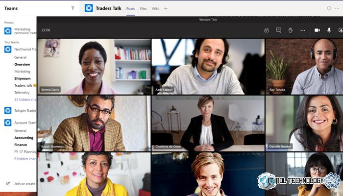 อัพเดตใหม่ Microsoft Teams แอปพลิเคชัน conference
