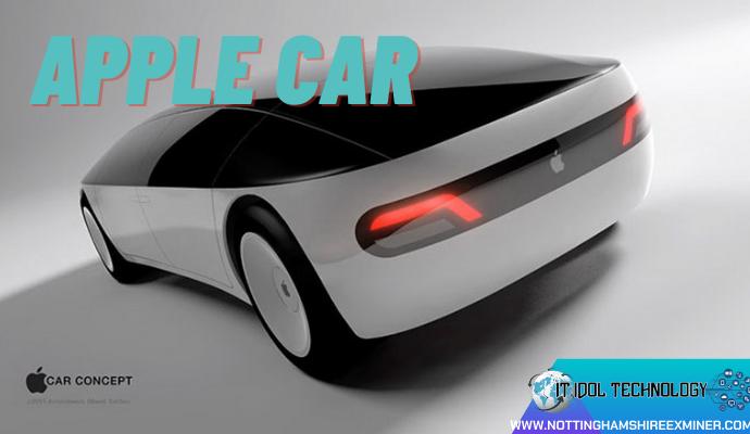 แอปเปิ้ลมีโครงการจะผลิต Apple Car นวัตกรรมรถยนต์ไฟฟ้าไร้คนขับ แอปเปิ้ลมีข่าวออกมาว่า บริษัทแอปเปิลจะทำการผลิต Apple Car