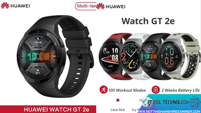 Huawei Watch GT2e Smartwatch นาฬิกาอัจฉริยะนาฬิกา Smart watch นาฬิกาอัจฉริยะในการตรวจจับด้านสุขภาพ และสำหรับคนที่ชอบออกกำลังกาย ฬิกาอัจฉริยะสำหรับคนชอบออกกำลังกายRemove term: นาฬิกาอัจฉริยะ นาฬิกาอัจฉริยะRemove term: นาฬิกา Smart watch นาฬิกา Smart watchRemove term: นาฬิกาอัจฉริยะด้านสุขภาพ นาฬิกาอัจฉริยะด้านสุขภาพRemove term: Huawei HuaweiRemove term: อุปกรณ์ Gadge อุปกรณ์ Gadge