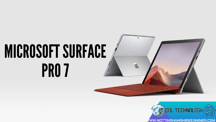 Microsoft Surface Pro 7 Surface Pro 7 ถือเป็นแทปเลตที่มีประสิทธิภาพสูง ที่สู้งานสุดๆ ทั้งหนักเอาเบาสู้งานบันเทิงงานสาระงานทางการได้ทุกรูปแบบ