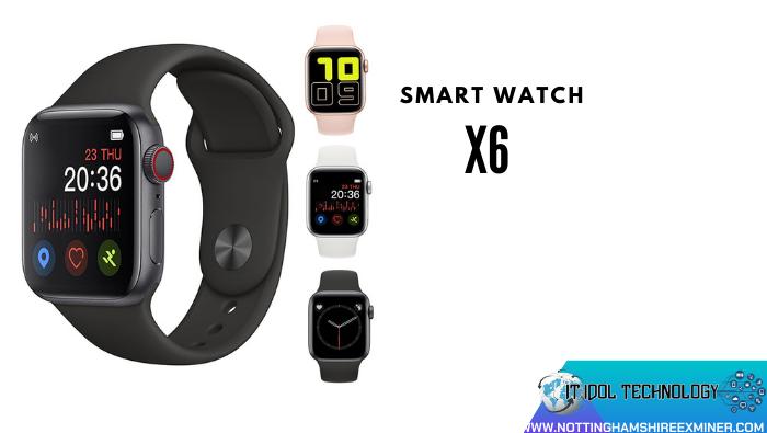รีวิว Smart Watch X6 นาฬิกา smart watch Social Media ต่างๆ ได้อย่างเช่น Facebook หรือ LINE Smart Watch X6 ที่มาในราคาเพียงแค่ 399 บาท