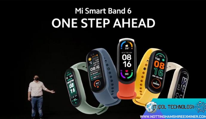 """ค่าย Xiaomi เปิดตัวสมาร์ทแบนด์ Mi Smart Band 6 """"ค่าย Xiaomi"""" แบรนด์สินค้าไอทีระดับชั้นนำของโลก เพิ่งสร้างความฮือฮาให้กับเหล่าสาวก"""